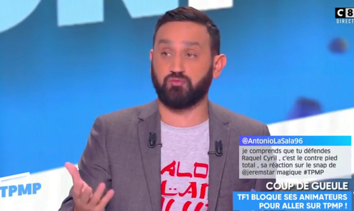 clash tpmp quotidien cyril hanouna d clare la guerre tf1 en direct toute l 39 actualit des. Black Bedroom Furniture Sets. Home Design Ideas